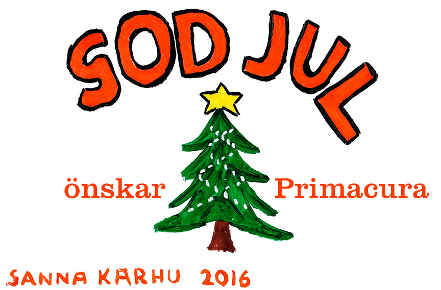 God Jul önskar Primacura